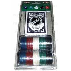 Покерный набор 48P-B на блистере