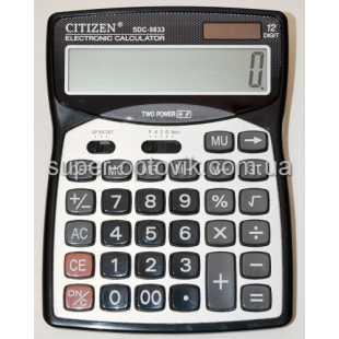 Калькулятор Citizen SDC-9833 большой